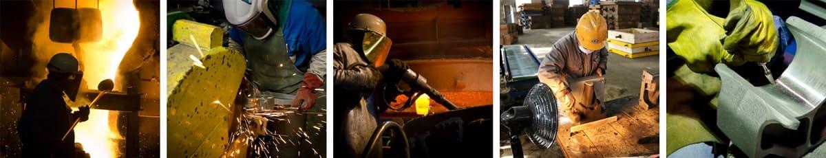 Leader mondial des composants en acier moulé